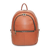 b7cb07062e07 Leather backpack women s black Jacqueline – shop online on ...