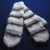 Аксессуары handmade. Livemaster - original item Teen-age knitted mittens. Handmade.