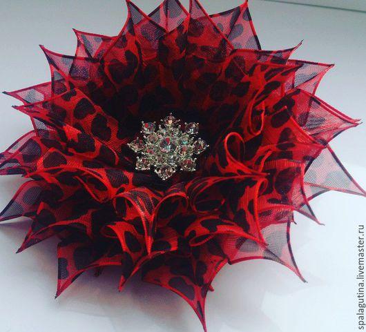 Заколки ручной работы. Ярмарка Мастеров - ручная работа. Купить Цветы из органзы. Handmade. Комбинированный, цветы ручной работы