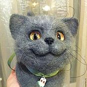 Куклы и игрушки ручной работы. Ярмарка Мастеров - ручная работа кот Феденька-большой. Handmade.