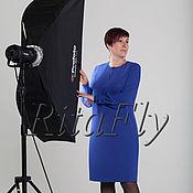 Одежда ручной работы. Ярмарка Мастеров - ручная работа 292: Свободное платье нарядное, Прямое платье свободного кроя. Handmade.