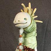 Куклы и игрушки ручной работы. Ярмарка Мастеров - ручная работа Коллекционная войлочная кукла Капивака №1. Handmade.