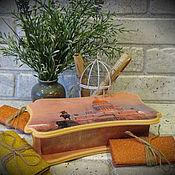 """Сувениры и подарки ручной работы. Ярмарка Мастеров - ручная работа Шкатулка """"Питер"""" (купюрница). Handmade."""