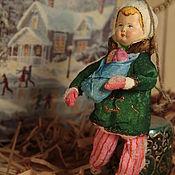 """Куклы и игрушки ручной работы. Ярмарка Мастеров - ручная работа Ватная игрушка """"Сашка вышла на прогулку"""". Handmade."""