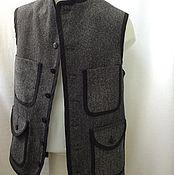 """Одежда ручной работы. Ярмарка Мастеров - ручная работа Жилет """" Железнодорожника """". Handmade."""