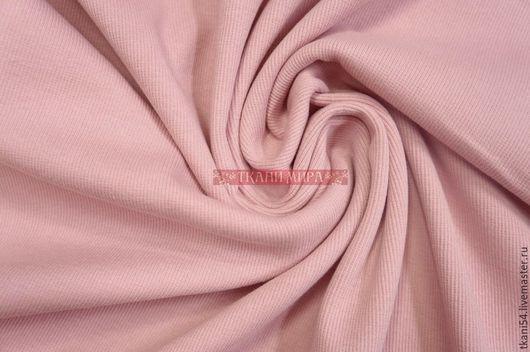 Шитье ручной работы. Ярмарка Мастеров - ручная работа. Купить Трикотажное полотно рукав, 90 см, светло-розовый. Handmade.