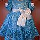 Одежда для девочек, ручной работы. Ярмарка Мастеров - ручная работа. Купить нарядное короткое платье для девочки из кружева, атласа и роз. Handmade.