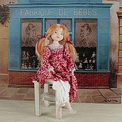 Куклы и игрушки ручной работы. Ярмарка Мастеров - ручная работа Авторская кукла Лиза (la-la-kukla). Handmade.