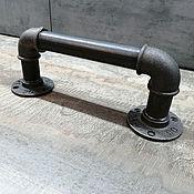 Для дома и интерьера handmade. Livemaster - original item Industrial style pipe door handle, loft. Handmade.