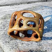 """Украшения ручной работы. Ярмарка Мастеров - ручная работа Браслет из дерева """"Летний вечер"""" (дуб). Handmade."""
