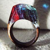 Украшения handmade. Livemaster - original item Wooden ring Spray. Handmade.