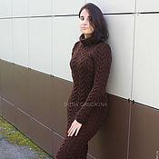 Одежда handmade. Livemaster - original item Woolen dress-Maxi