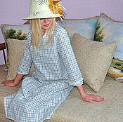 """Одежда ручной работы. Ярмарка Мастеров - ручная работа Платье свободное """"На каникулах в Англии"""". Handmade."""