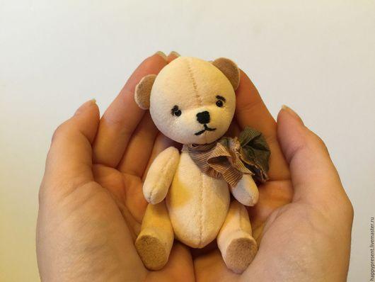 Мишки Тедди ручной работы. Ярмарка Мастеров - ручная работа. Купить Медвежонок Абрикосик. Handmade. Медвежонок, подарок, малыш