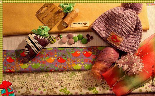 Куклы и игрушки ручной работы. Ярмарка Мастеров - ручная работа. Купить Набор для шитья текстильной куклы 2. Handmade. Комбинированный