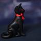 Персональные подарки ручной работы. Черная кошка. Jetau. Интернет-магазин Ярмарка Мастеров. Кошка, подарок, акрил