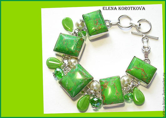 купить браслет   зеленый  браслет    авторские украшения    зеленый  браслет    серебряный браслет   пышный браслет   браслет женский   браслет в подарок    браслет подарок жене браслет фото браслет