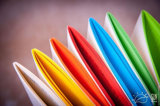 Записные книжки ручной работы. Ярмарка Мастеров - ручная работа. Купить Сменный блокнот для Midori Traveler's Journal цветной. Handmade.