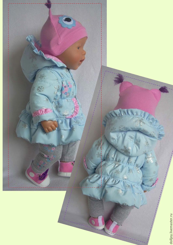 выкройки одежды для куклы беби бон