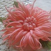 Украшения handmade. Livemaster - original item Brooch Chrysanthemum Ainura. Handmade.