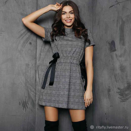 4e3d39bcb2443 Платья ручной работы. Ярмарка Мастеров - ручная работа. Купить 384: мини  платье с ...