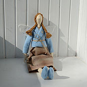 Куклы и игрушки ручной работы. Ярмарка Мастеров - ручная работа Тильда с ключом. Handmade.