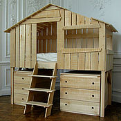 Для дома и интерьера ручной работы. Ярмарка Мастеров - ручная работа Мульти функциональная кровать. Handmade.
