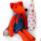 Куклы и игрушки handmade. Livemaster - original item Knitted toy. Fox.. Handmade.