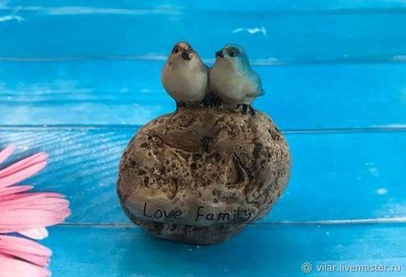 Птички на камне, Материалы, Балашиха, Фото №1