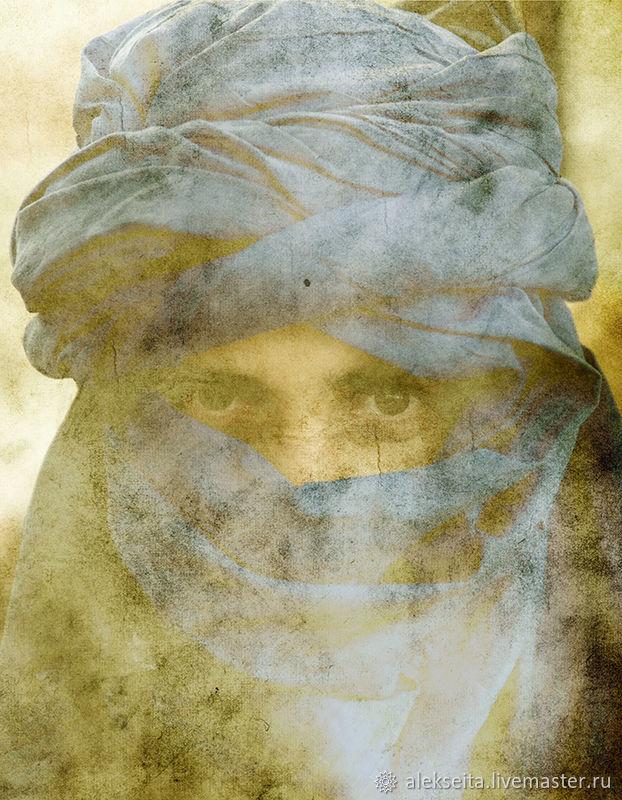 Люди, ручной работы. Ярмарка Мастеров - ручная работа. Купить Туарег.  60х46,5  Бумага матовая. Печать. Handmade. Фотография