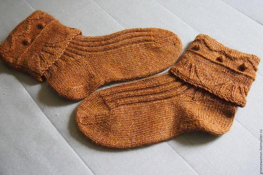 Носки, Чулки ручной работы. Ярмарка Мастеров - ручная работа. Купить Вязанные носки ручной работы. Handmade. Носки