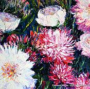 Картины и панно handmade. Livemaster - original item Oil painting. Peonies. The flowers in the garden.. Handmade.