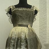Одежда ручной работы. Ярмарка Мастеров - ручная работа Платье и фартук для Влады. Handmade.