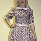 Платья ручной работы. Платье с цветочным принтом. Ксения Gleamnight. Интернет-магазин Ярмарка Мастеров. Легкое платье, милое платье