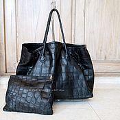 Сумки и аксессуары handmade. Livemaster - original item Alligator genuine leather bag. Handmade.