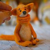 Куклы и игрушки ручной работы. Ярмарка Мастеров - ручная работа Лисик. Handmade.