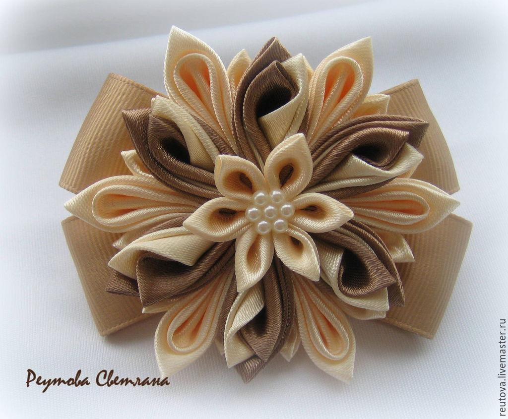Резинки заколки для волос  канзаши