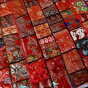Для дома и интерьера ручной работы. Ярмарка Мастеров - ручная работа Покрывало индийское. Handmade.