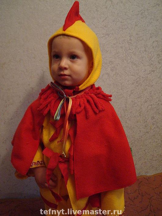 Детские карнавальные костюмы ручной работы. Ярмарка Мастеров - ручная работа. Купить Петушок. Handmade. Петух