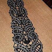 Аксессуары ручной работы. Ярмарка Мастеров - ручная работа Кружевной галстук. Handmade.