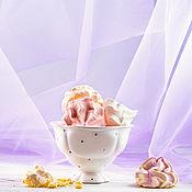 Посуда handmade. Livemaster - original item Marshmallow cloud :) Ice cream dish, hand made ceramics. Handmade.