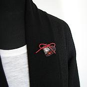 """Одежда ручной работы. Ярмарка Мастеров - ручная работа Кардиган-пальто """"Майская ночь"""". Handmade."""