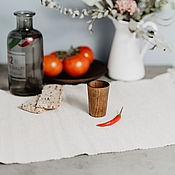 Посуда handmade. Livemaster - original item Glass hardwood handmade Siberian Cedar #R22. Handmade.