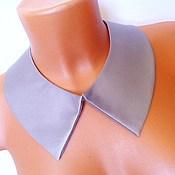 Аксессуары handmade. Livemaster - original item Removable collar dress grey. Handmade.