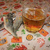 Для дома и интерьера ручной работы. Ярмарка Мастеров - ручная работа Скатерть для бани с пропиткой Пиво и Раки. Handmade.