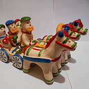 Куклы и игрушки ручной работы. Ярмарка Мастеров - ручная работа Повозка. Handmade.