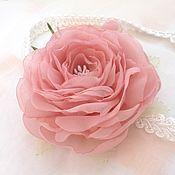 Украшения handmade. Livemaster - original item Flowers made of fabric. headband hair