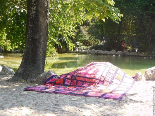 Текстиль, ковры ручной работы. Ярмарка Мастеров - ручная работа. Купить Quilt Лоскутное покрывало Цветы и фрукты. Handmade. Комбинированный