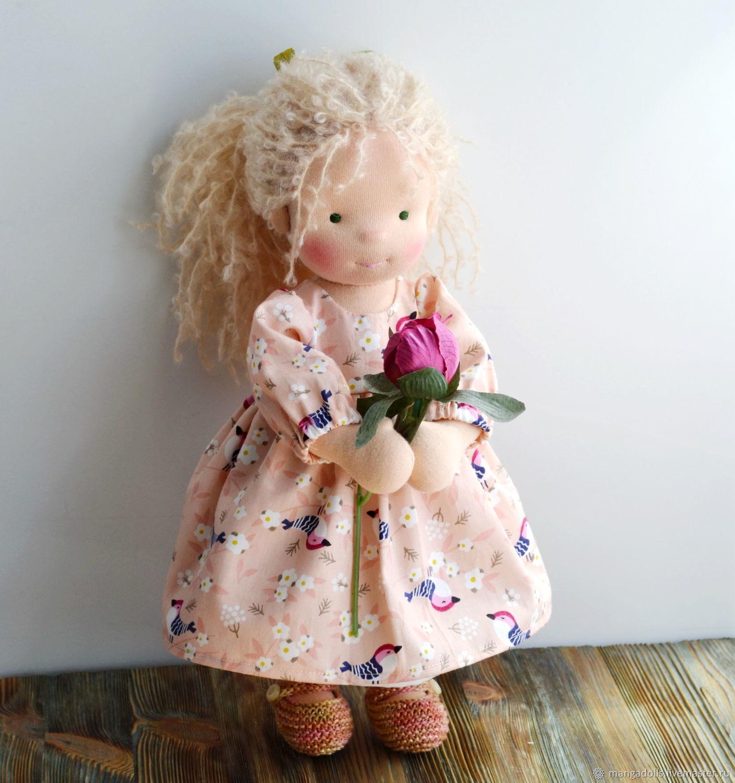 Вальдорфская кукла Лиза, Вальдорфские куклы и звери, Томск,  Фото №1