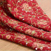 Материалы для творчества handmade. Livemaster - original item Very original fabric with beads, Roxolana. Handmade.